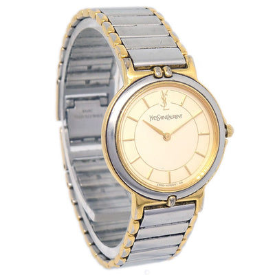 YVES SAINT LAURENT 2200-228481TA Ladies Quartz Wristwatch Watch Stainless steel