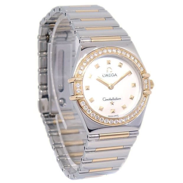 OMEGA Constellation 6562/874 Ladies Quartz Wristwatch Watch Diamond Bezel