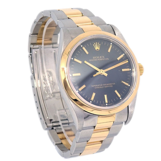 ROLEX OYSTER PERPETUAL Ref.14203 Mens Self-winding Wristwatch Watch SS