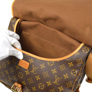 LOUIS VUITTON SAUMUR 35 Messenger SHOULDER BAG MONOGRAM M42254