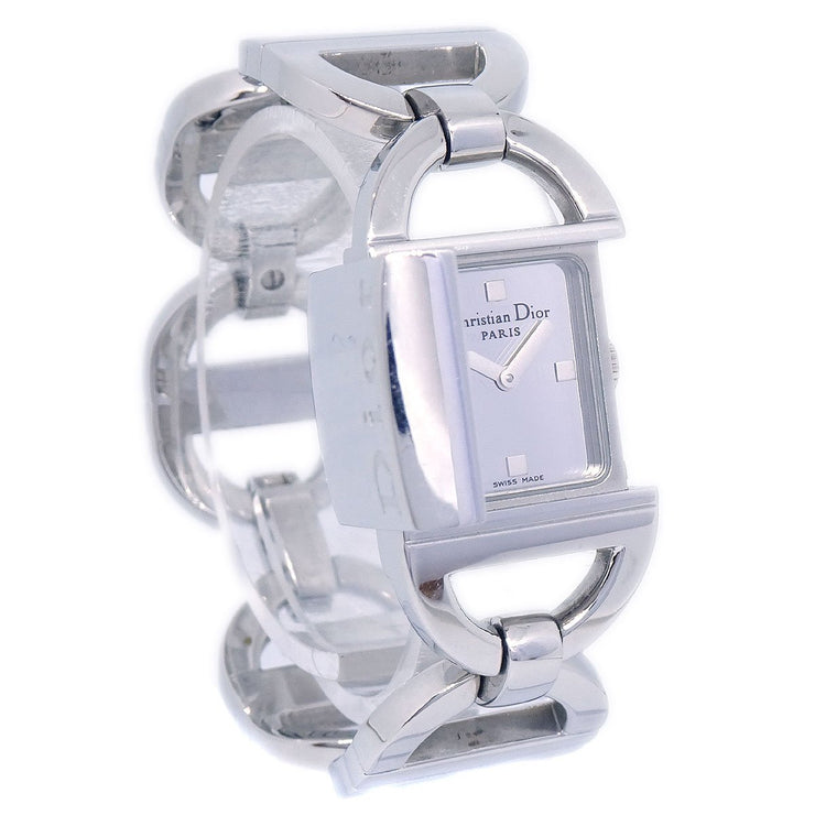 Christian Dior Pandiora D78-100 Ladies Quartz Wristwatch Watch SS