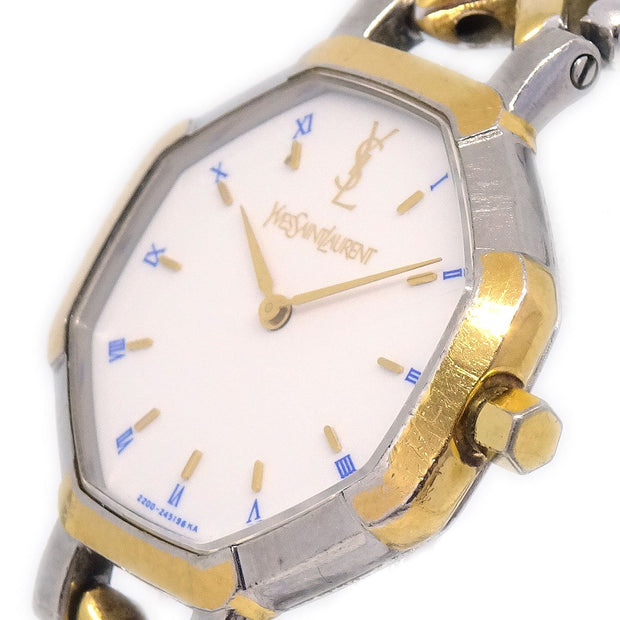 YVES SAINT LAURENT 2200-226313YO Ladies Quartz Wristwatch Watch Stainless steel