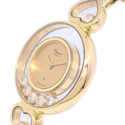 Chopard Happy Diamonds 5076 Ladies Quartz Wristwatch Watch Yellow Gold 750