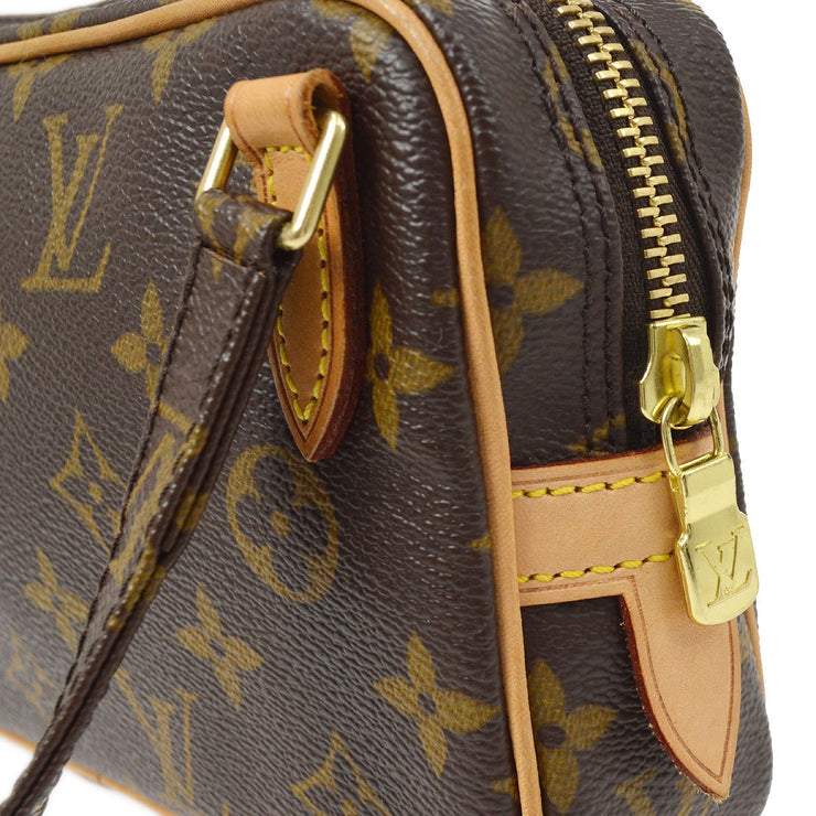 LOUIS VUITTON MARLY BANDOULIERE SHOULDER BAG MONOGRAM M51828