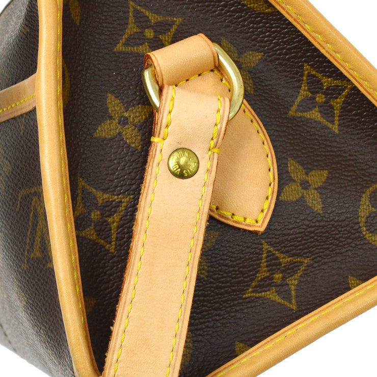 LOUIS VUITTON POPINCOURT LONG SHOULDER BAG MONOGRAM M40008