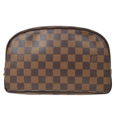 LOUIS VUITTON TROUSSE TOILETTE 25 COSMETIC POUCH DAMIER N47624