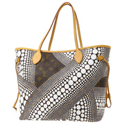 LOUIS VUITTON NEVERFULL MM HAND TOTE BAG MONOGRAM WAVES M40684