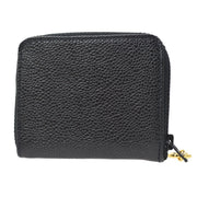 CHANEL Coin Case Wallet Caviar Skin Black