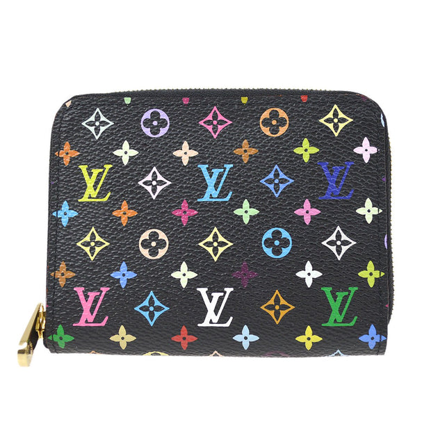 LOUIS VUITTON MONOGRAM MULTICOLOR ZIPPY COIN CASE WALLET M60268