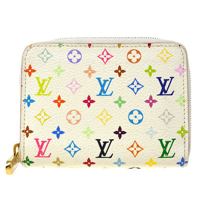 LOUIS VUITTON MONOGRAM MULTICOLOR ZIPPY COIN PURSE WALLET M93741