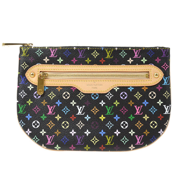 LOUIS VUITTON POCHETTE GM COIN PURSE WALLET MULTI-COLOR M60030