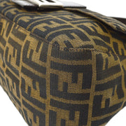 FENDI Mamma Baguette Hand Bag Brown