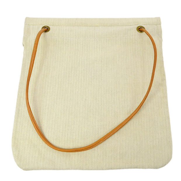HERMES Aline GM Shoulder Bag Ivory Brown