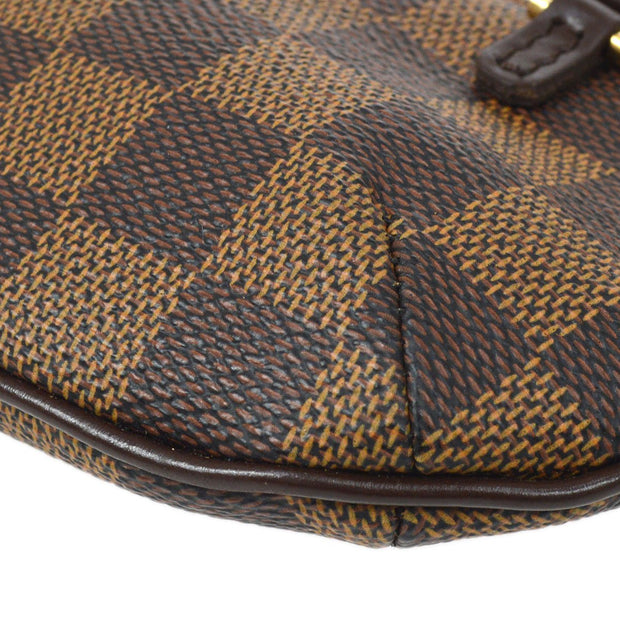LOUIS VUITTON MANOSQUE ATTACHED HAND BAG POUCH BAG DAMIER
