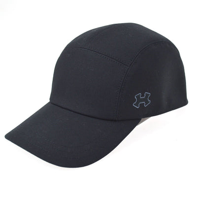 HERMES Hat Cap Black #59 Small Good