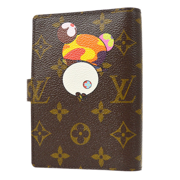 LOUIS VUITTON AGENDA PM NOTEBOOK COVER MONOGRAM PANDA R20011 SMALL GOOD
