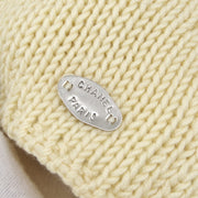 CHANEL 99A #42 Fisherman Sweater Ivory
