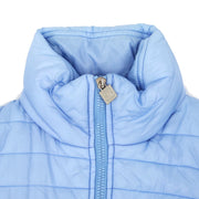 CHANEL 05A #36 Sports Line 2way Vest Long Sleeve Jacket Light Blue