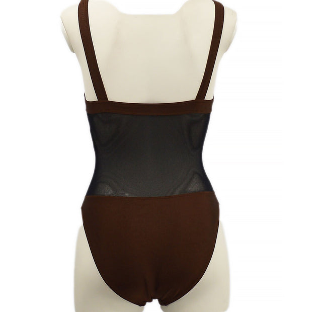 FENDI Swimwear Swimsuit Brown #42