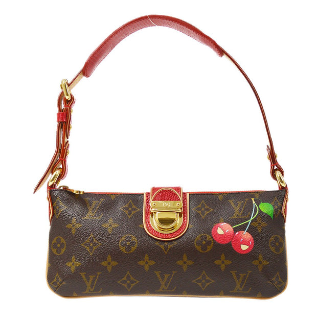 LOUIS VUITTON MOON CHERRY HAND BAG MONOGRAM CHERRY TAKASHI MURAKAMI M95000