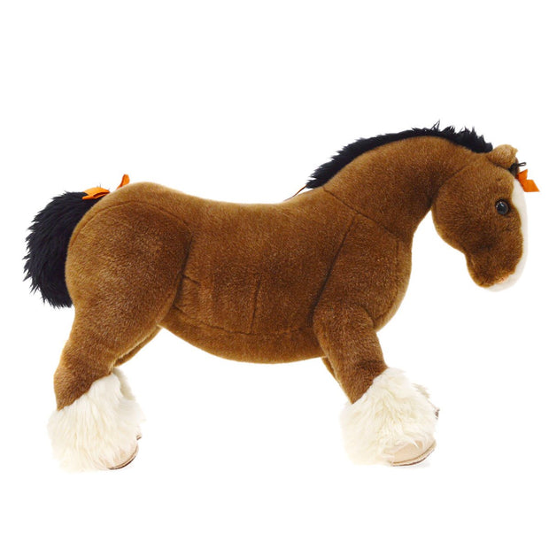 HERMES Hermy Baby Horse Plush Doll Brown Toy