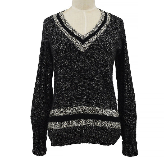 CHANEL 98A #38 Sweater Black