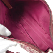 Christian Dior Trotter 2way Hand Shoulder Bag Bordeaux