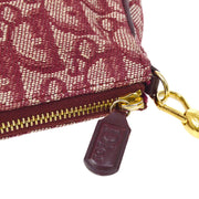 Christian Dior Trotter Saddle Hand Bag Bordeaux