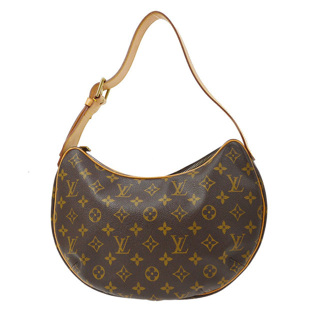 LOUIS VUITTON CROISSANT MM HAND BAG MONOGRAM M51512