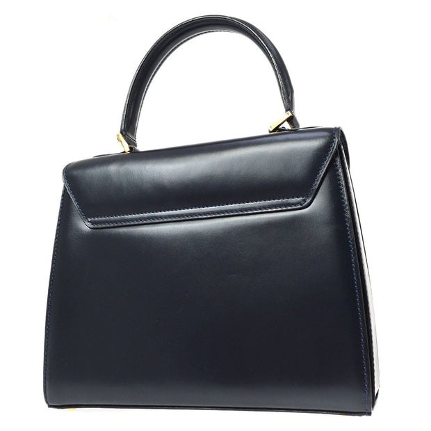 CELINE Hand Bag Navy