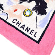 CHANEL Beach Towel Pink