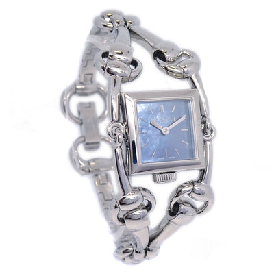 GUCCI 116.5 Signoria Wristwatch Ladies Quartz Watch Stainless steel Silver
