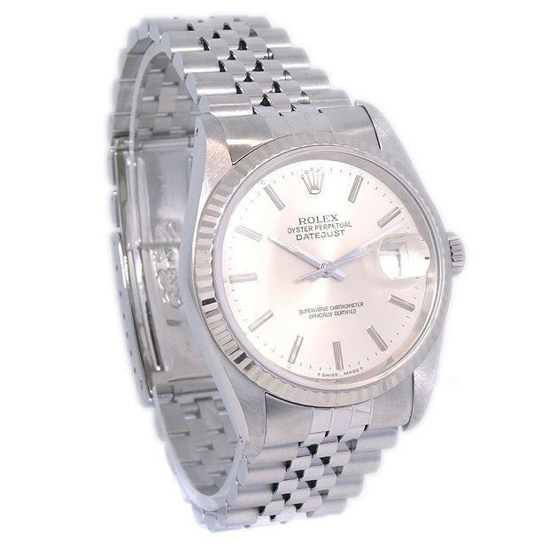 ROLEX OYSTER PERPETUAL DATEJUST Ref.16234 Self-winding Wristwatch Watch