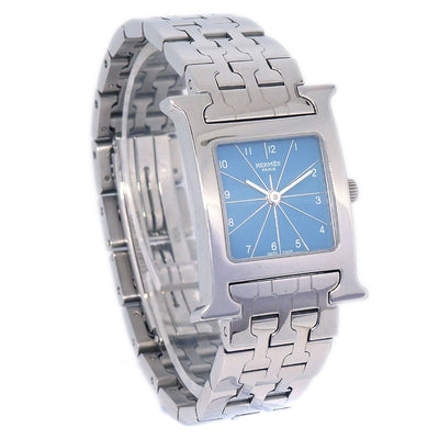 HERMES H Watch HH1.210 Ladies Quartz Wristwatch Watch Silver