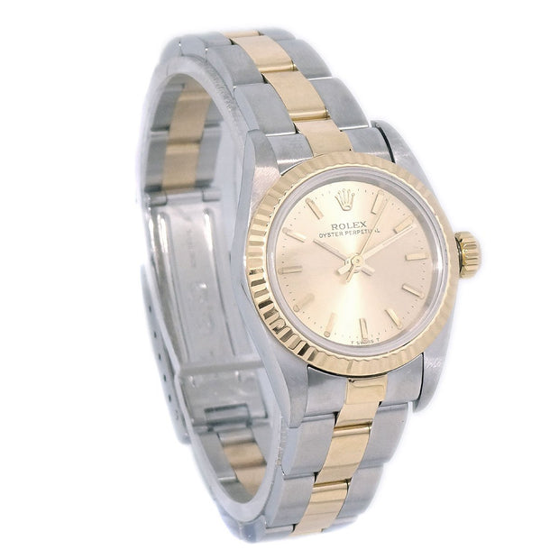 ROLEX OYSTER PERPETUAL Ref.67193 Self-winding Wristwatch Watch