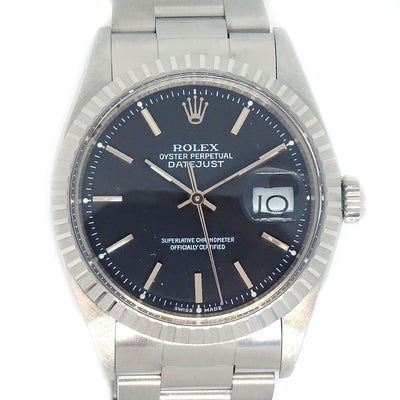 ROLEX OYSTER PERPETUAL DATEJUST Ref.1603 Self-winding Wristwatch Watch