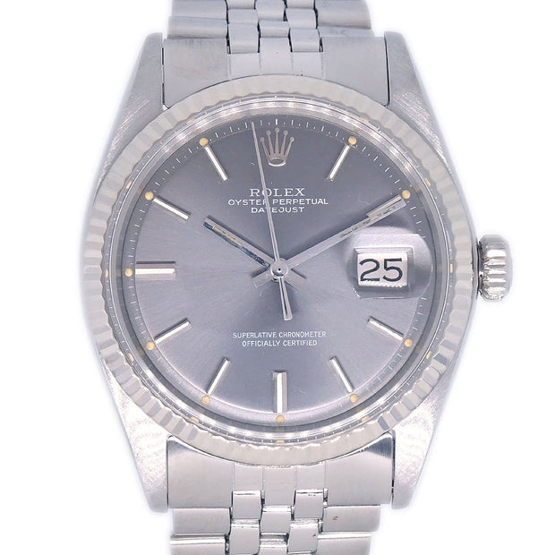 ROLEX OYSTER PERPETUAL DATEJUST Ref.1601 Self-winding Wristwatch Watch