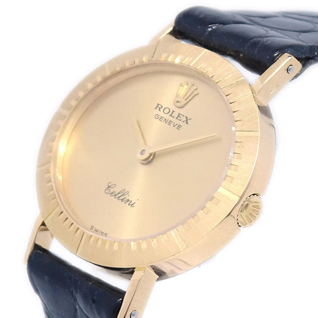 ROLEX GENEVE Cellini Ref.4081 Ladies Manual-winding Wristwatch Watch