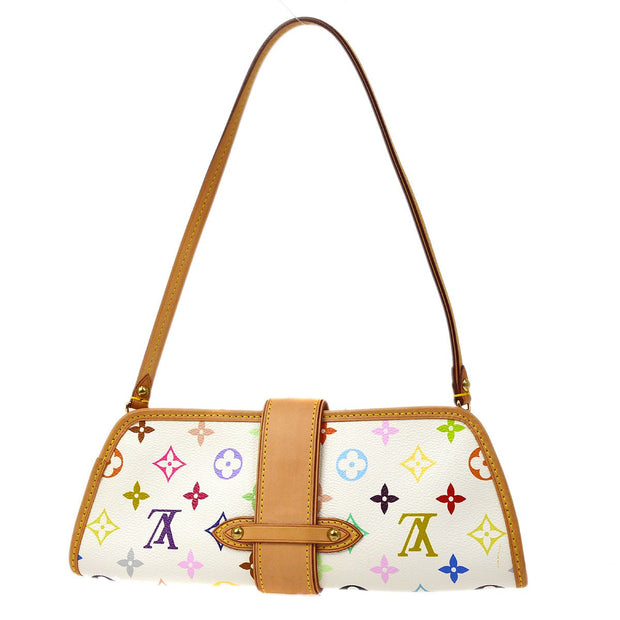 LOUIS VUITTON SHIRLEY HAND BAG MONOGRAM MULTI-COLOR M40049