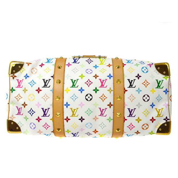 LOUIS VUITTON Duffle KEEPALL 45 TRAVEL HAND BAG MONOGRAM MULTI M92641