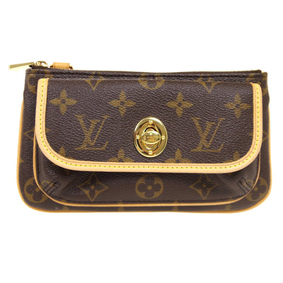 LOUIS VUITTON POCHETTE TIKAL POUCH BAG MONOGRAM M60019
