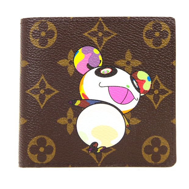 LOUIS VUITTON CARTES CREDIT MONNAIE WALLET MONOGRAM PANDA M61666