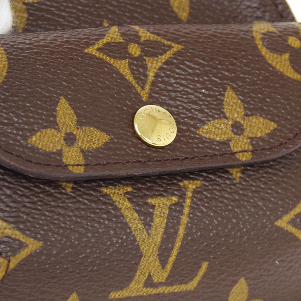 LOUIS VUITTON PORTE MONNAIE SCHILLING COIN CASE WALLET MONOGRAM M60025