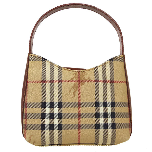 BURBERRY'S House Check Hand Bag Beige