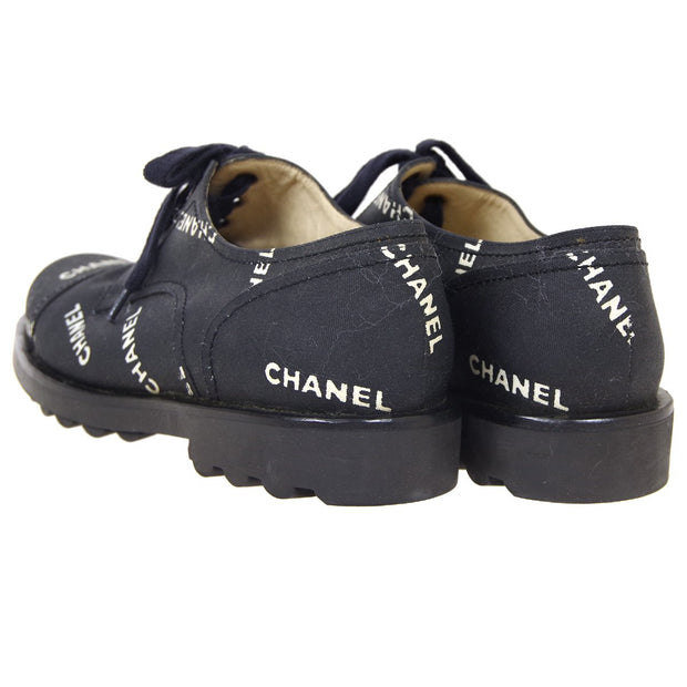 CHANEL Shoes Sneakers Black #38