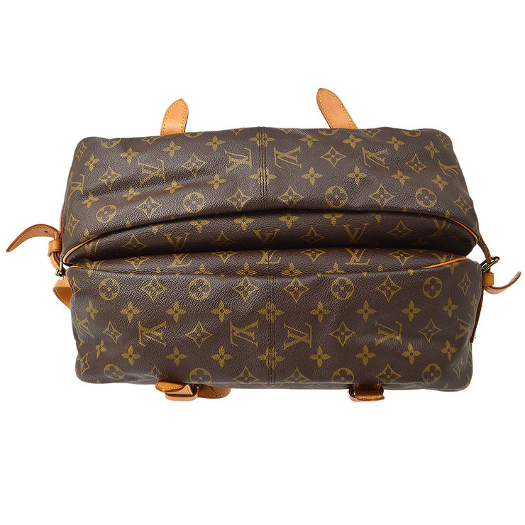 LOUIS VUITTON Messenger SAUMUR 43 SHOULDER BAG MONOGRAM M42252