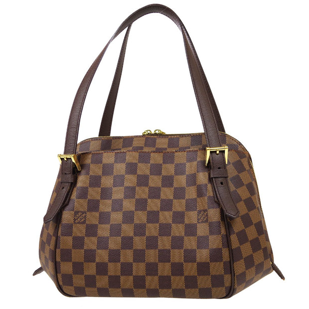 LOUIS VUITTON BELEM MM HAND BAG DAMIER N51174