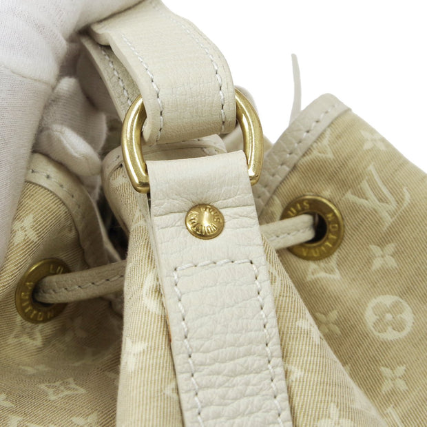 LOUIS VUITTON NOE DRAWSTRING SHOULDER BAG MONOGRAM MINI LIN M95315