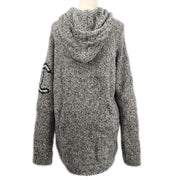 CHANEL 07A #42 Penguin Hoodie Sweater Gray