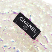 CHANEL Wire Hat Clear Vinyl